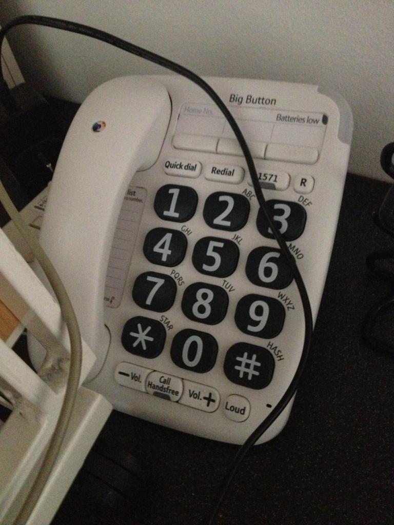 Aged Phone